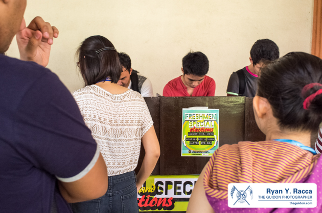 CAMPUS POLITICS. Despite the failure of elections, Comelec Chief Commissioner Julianne Fajardo said that there are members of the Atenean electorate who still keep campus politics alive.