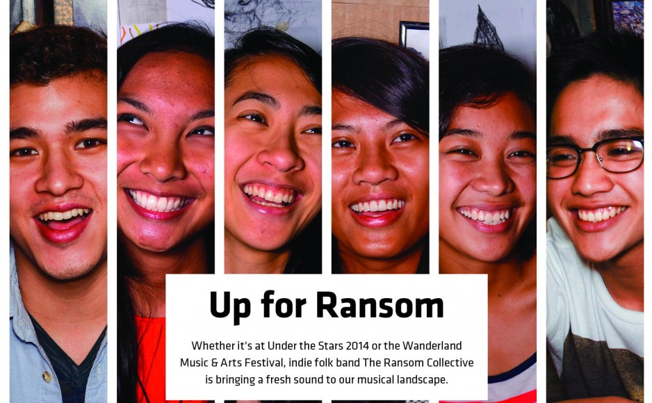 SINGING TO A DIFFERENT TUNE. Listeners are often surprised to discover that The Ransom Collective is a local band; its unique sound has drawn comparisons to artists like The Lumineers and Arcade Fire. (Photo by Arielle A. Accosta