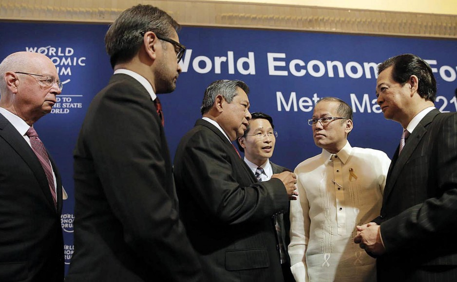 MEETING OF THE MINDS. Over 600 delegates from 30 countries gathered at the Makati Shangri-La fro the 23rd World Economic Forum on East Asia last May. (Photo by Global Insights Asia)