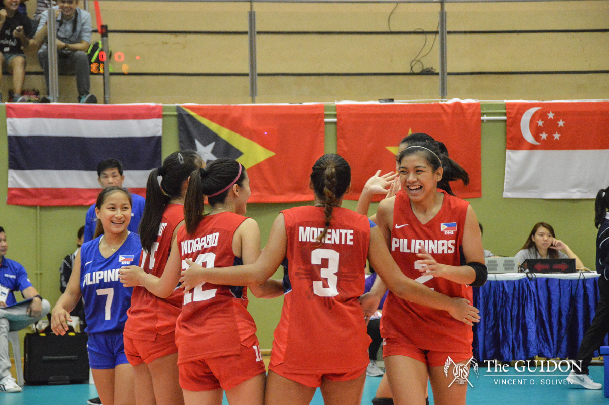 Philippine Mens And Womens Volleyball Teams Fail To Register Wins Against Their Thai Opponents