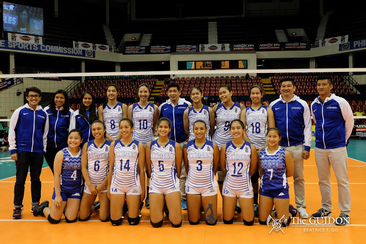 Ateneo Lady Eagles open the Shakey's V- League with loss ...