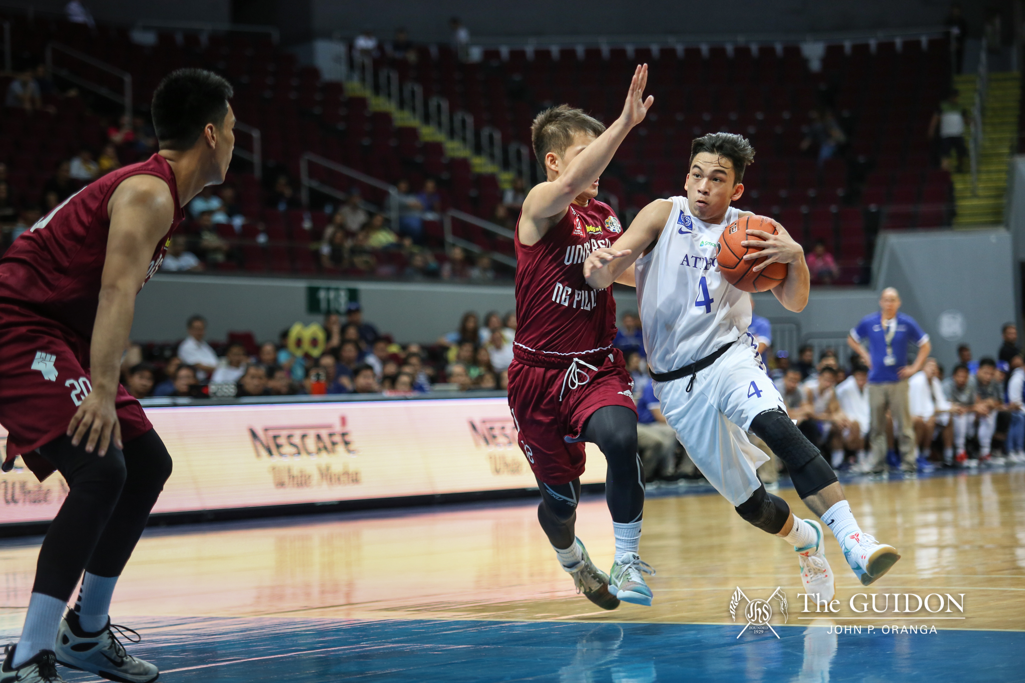 Ateneo Blue Eagles Drop Their Second Straight Against The