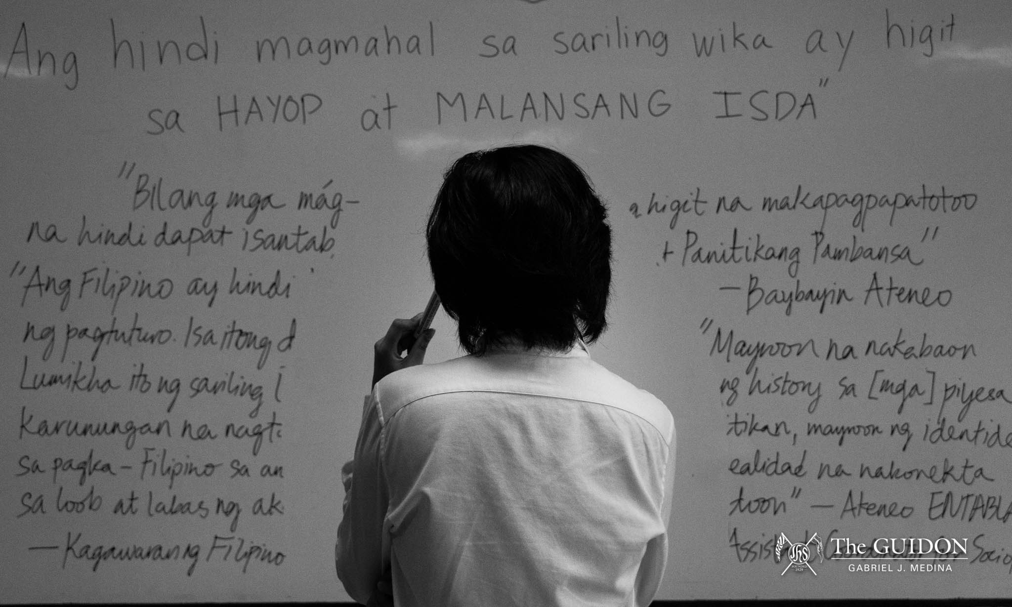 Ateneans oppose pending CHED curriculum excluding Filipino