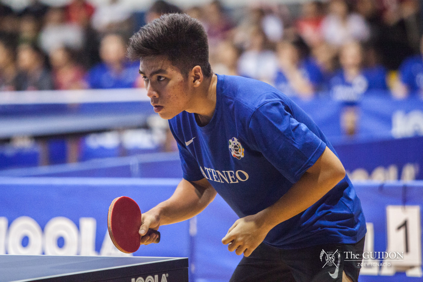 Ateneo Men's Table Tennis end difficult season with defeats to DLSU, AdU - The GUIDON